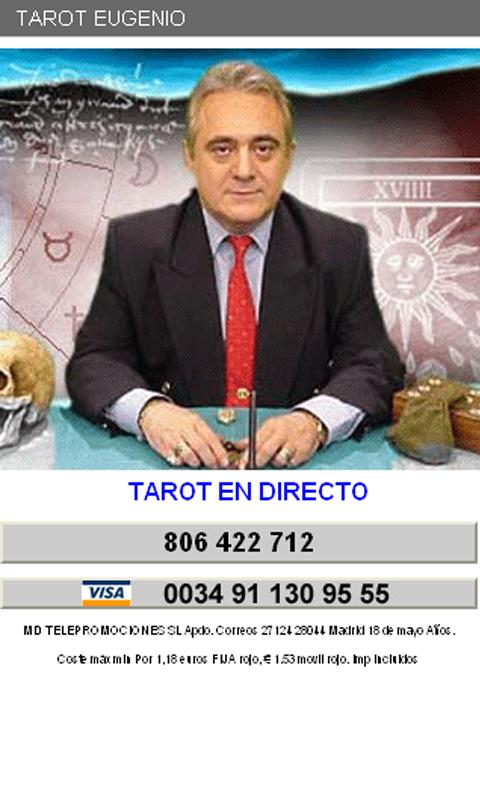 Tarot Eugenio Gregorio - screenshot