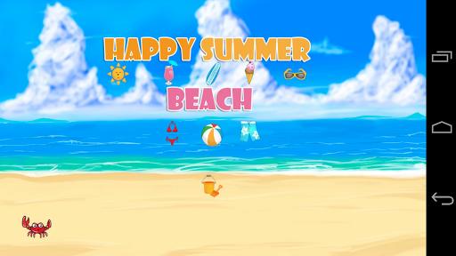 Happy Summer Beach