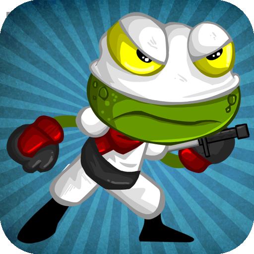 動作App|Ninja Frog Run LOGO-3C達人阿輝的APP