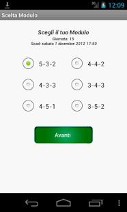 Fantacalcio Android- screenshot thumbnail
