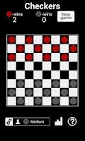 Screenshot of Checkers HD