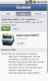 Hyderabad Suburban trains - screenshot thumbnail
