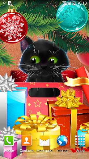 mod Kitten on Christmas Wallpaper 1.0.3 screenshots 4