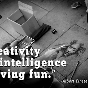 creativity by Mark Andres - Typography Quotes & Sentences (  )