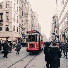 by Farrah-Diba Sing - Transportation Trains ( urban, lifestyle, travel, turkey, istanbul, people, city,  )