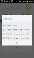 Screenshot of Good Sleep(intelligent filter)