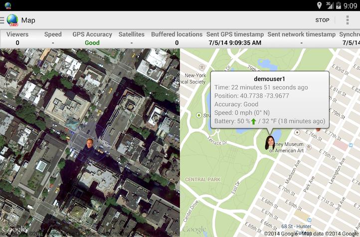 Real-Time GPS Tracker 2 Screenshot