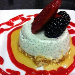 Gluten free and vegan panna cotta!