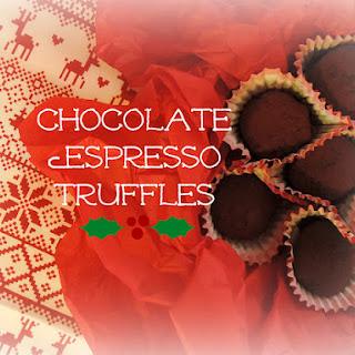 Easy Chocolate Espresso Truffles!