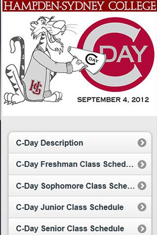 CDay 2012 - screenshot