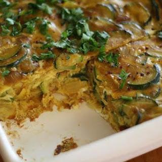 Zucchini Frittata.