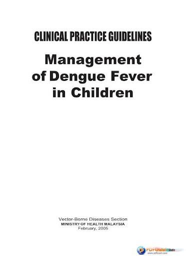 KKM BKP Dengue in Children
