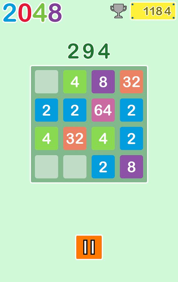 2048 FREE - screenshot