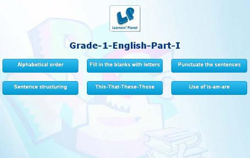 Grade-1-English-part-1