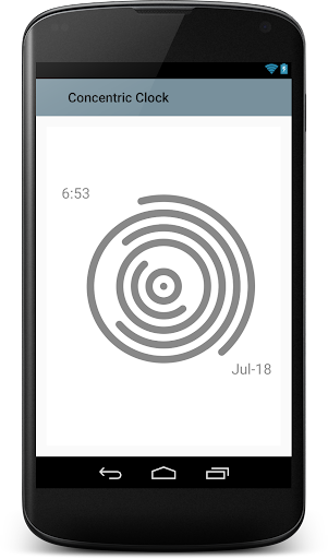 Concentric Clock