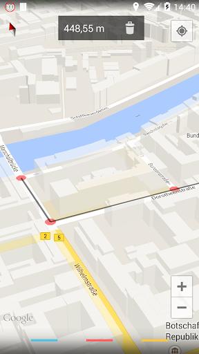 Maps Measure 1.4.2 screenshots 1