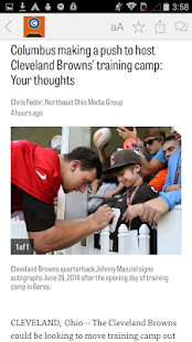 cleveland.com: Browns News- screenshot thumbnail