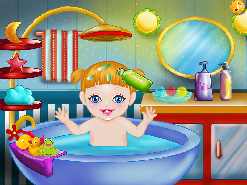 baby bath games for girls android apps on google play. Black Bedroom Furniture Sets. Home Design Ideas