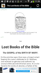 The lost books of the bible apps on google play screenshot image fandeluxe Choice Image