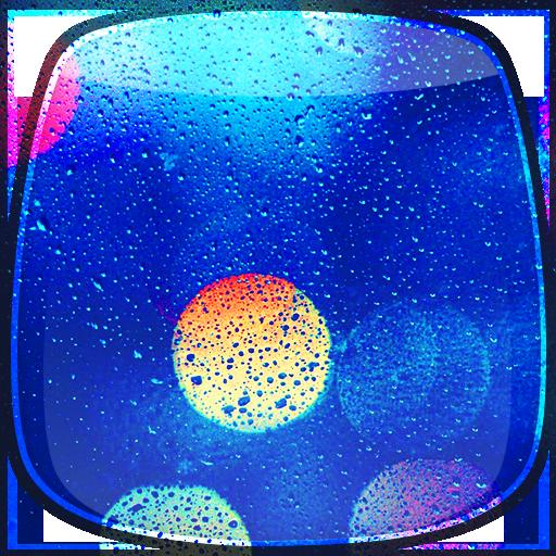 Rain on Glass Live Wallpaper 個人化 LOGO-阿達玩APP