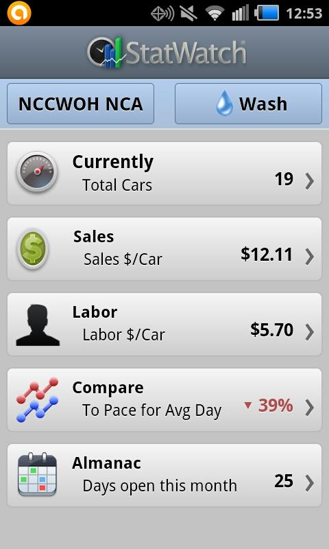 StatWatch- screenshot