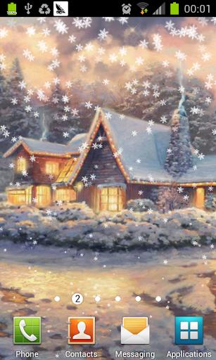 梦幻圣诞节动态壁纸