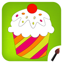 Cup Cake Coloring Book icon