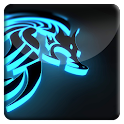 Neon Dragon HD Live Wallpaper icon
