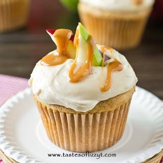 Caramel Apple Cupcakes