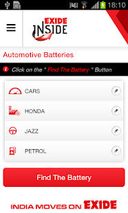 Battery app exide inside apps on google play screenshot image fandeluxe Image collections