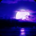 Full Moon on the Sea ライブ壁紙