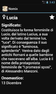 Significato dei Nomi – Nomix - screenshot thumbnail
