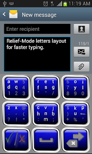 Keyboard-Relief 3.1- screenshot thumbnail