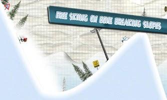 Screenshot of Stickman Ski Racer