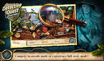 Screenshot of Hidden Object Detective Quest