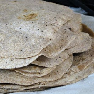 Sourdough Whole Wheat Tortillas