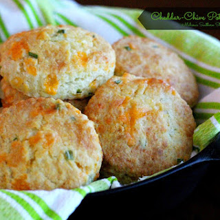 Cheddar-Chive Potato Biscuits