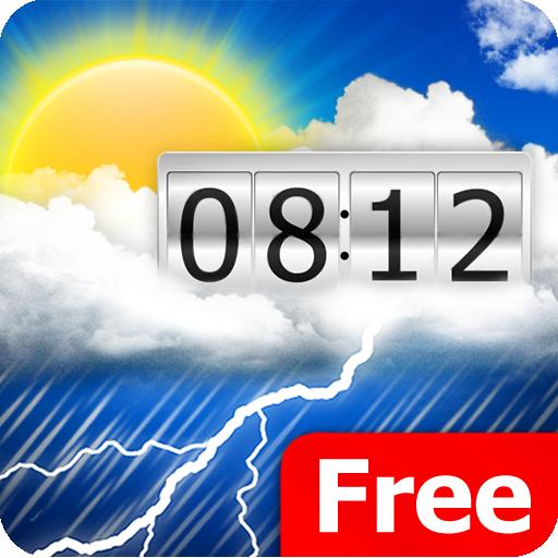 Weather & Clock  Meteo Widget