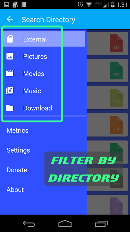 FileHog: Large File Manager- screenshot