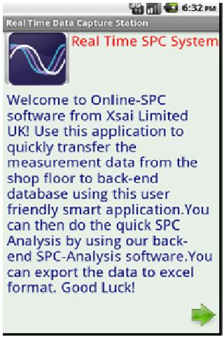 Real Time SPC (Demo Version)- screenshot