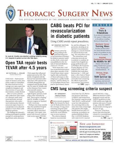 Thoracic Surgery News