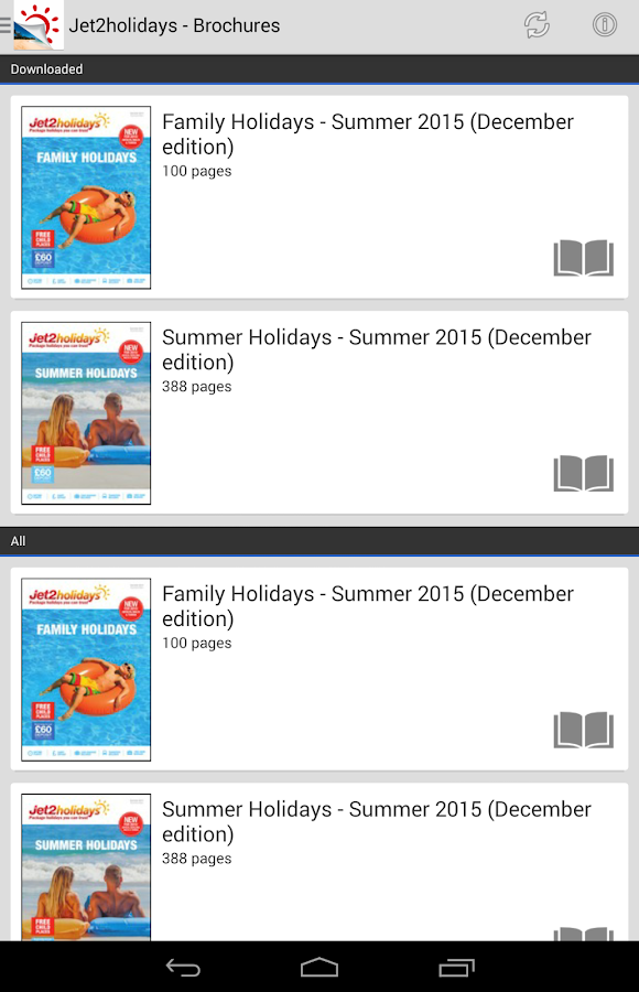 Jet2holidays Brochures- screenshot