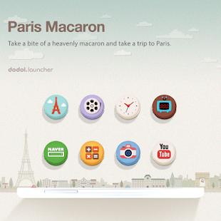 Paris Macaron Dodol Theme