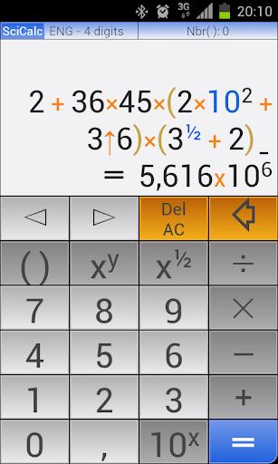 rvCalc Scientific Calculator