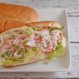 Imitation Lobster Rolls