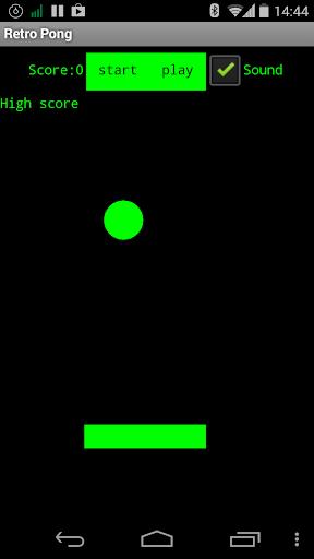 Retro Pong