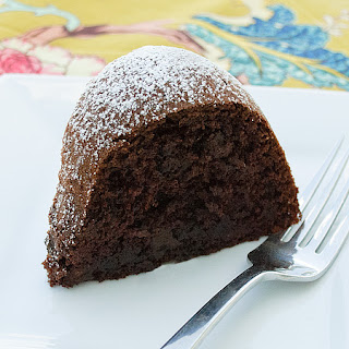 Decadent Chocolate Bundt Cake.