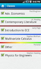 Everstudent Student Planner Screenshot 3