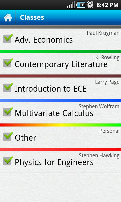 Everstudent Student Planner- screenshot