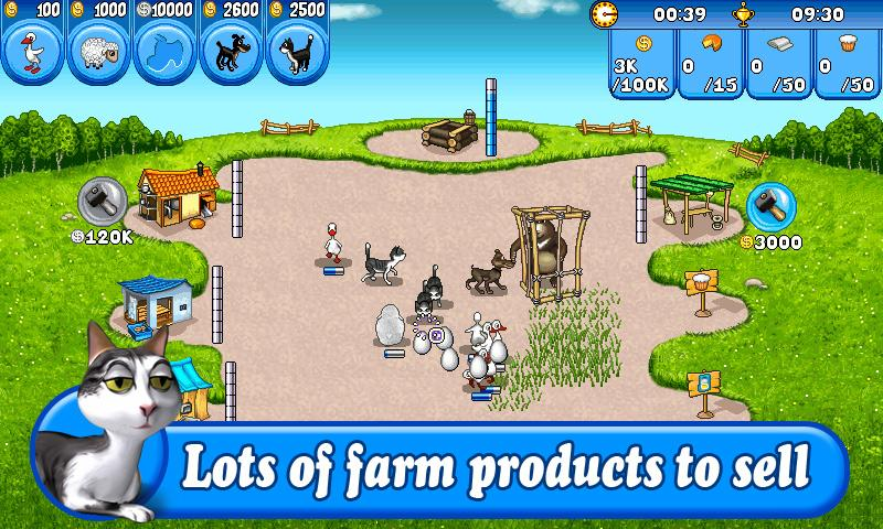 Farm Frenzy Free - screenshot
